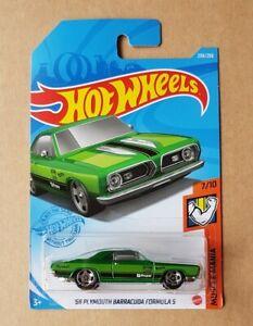 Hot Wheels '68 PLYMOUTH BARRACUDA FORMULA S MUSCLE MANIA P CASE 2021