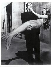 Frankenstein's Monster and a Mermaid HilariousClassic 8x10photo