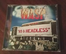 W.A.S.P.  – '89 & Headless tour (NEW*LIM.300*LIVE HAMMERSMITH 1989)