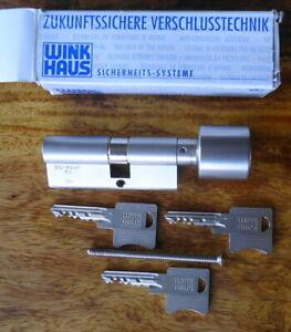 Winkhaus Knauf Zylinder mit 3 Schlüssel , 40 x 30