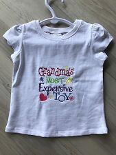 Girls Shirt Size 1 Birthday Grandmas Toy Baby Gift