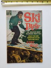Dell Movie Classic Ski Party Comic Book Movie Tie-In Frankie Avalon 1965