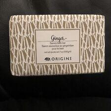 ORIGINS Ginger Savory Bath Bar -  7 oz - NEW  - FULL SIZE!!!  SEALED!!