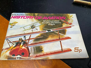 """Brooke Bond Picture Cards """"History of Aviation"""" Complete Set"""