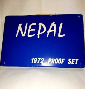 NEPAL 1972 PROOF SET--ONLY 3943 PROOF SETS MINTED