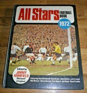 The All Stars Football Book 1972 (No.11) Mike England, Tony Green Hardback Book