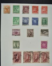 AUSTRALIA, a collection of stamps on 12 album pages, MM & used condition.