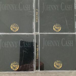 JOHNNY CASH: Vintage Vaults Volume 1 - 4 (CAN 4-CD-Set ITEM # VAU / NM)