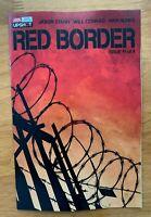 RED BORDER #1 Bradstreet Main Cover A 1st Print AWA 2020 NM+