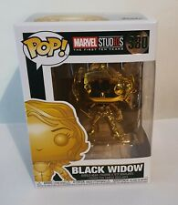 Funko Pop Black Widow metallic