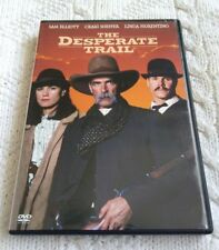 THE DESPERATE TRAIL – DVD, REGION-1, LIKE NEW, FREE POST IN AUSTRALIA
