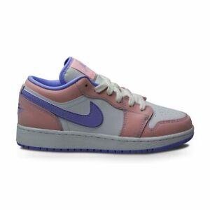 Juniors Nike Air Jordan 1 Low (GS) - CV96844 600 - Artic Punch Purple Pulse