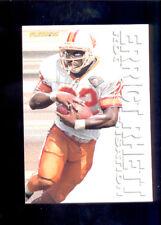 1995 Fleer ERRICT RHETT Tampa Bay Buccaneers Rookie Sensation Insert Card Mint