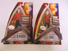 Star Trek Deep Space Nine Dax And O'Brien Action Figures ~New!~ Mr237