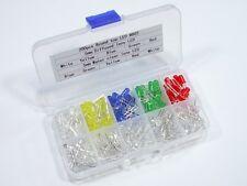 S948 LED Sortiment B - 200 Stück 5mm LEDs klar und diffus 5 Farben Set mit Box