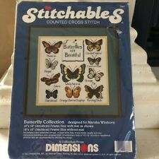 Dimensions Butterfly Collection Design Marsha Winborn Counted Cross Stitch Kit
