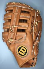 "Wilson A2000 XLO Japan 12"" Baseball Softball Glove RHT Hand Oiled & Shaped Nice!"