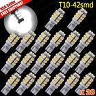 20 Pure White T10/921/194 RV Trailer 42-SMD 12V Backup Reverse LED Lights Bulbs