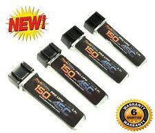 PowerHobby 1S 3.7V 150Mah 45C Lipo Battery (4) : E-Flite UMX Radian