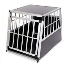 B-WARE Aluminium Hundetransportbox Transportbox Alubox Reisebox Hundebox Box