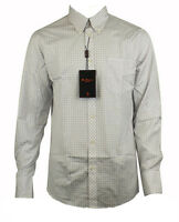 Mens Ben Sherman Mod Gingham Check Covent Collar L/S Indie Shirt Size S M L