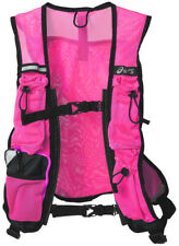 Asics Visible Running Vestpack Pink Womens High Visibility Vest Backpack