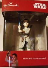 Hallmark Star Wars Rey Christmas Ornament New 2017