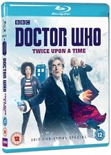 DR WHO 2017 Christmas Special TWICE UPON A TIME Doctor Peter Capaldi BLU-RAY Rg0