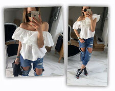 Fashion Women Sexy Off Shoulder Casual Blouse Summer Tops Beach T Shirt S