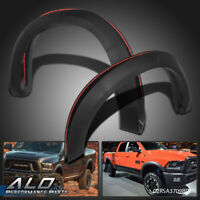For 2009-2018 Dodge Ram 1500 Textured Black Factory Style Bolt On Fender Flares