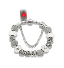 Designer Beaded Charm USB Bracelet EMR EHR PHR Medical Alert ID-NIB