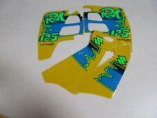 Ricambi e accessori giallo adesivi per caschi per la guida di veicoli