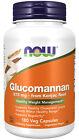 NOW Glucomannan 575 mg 180 Veg Capsules   6512
