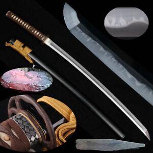 Samurai Sword Kobuse Jihada Tamahagane Wakou Forging Steel + Clay Tempered #580
