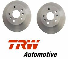 2 Pack TRW Front Brake Disc Rotor Set Pair for VW Campmobile Transporter