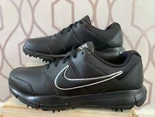 Nike Durasport 4 Black Metallic Silver Mens Uk 8.5 Brand New Aw22