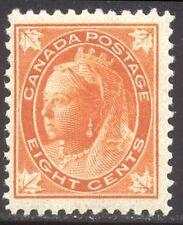 CANADA #72 Mint NH BEAUTY - 1897 8c Orange