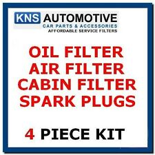 VW Golf  & Golf Plus 1.4i 16v 04-09 Plugs,Oil,Cabin & Air Filter Service Kit