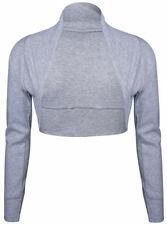 T-shirt, maglie e camicie da donna maniche a 3/4 grigi in cotone