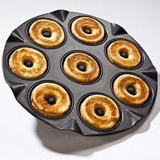 Stampo Da Forno Per Ciambelline Budini Donuts Acciaio Antiaderente 8 Impronte