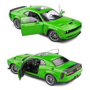 1/18 Solido Dodge Challenger R/T Scat Pack Widebody Green 2020 Livraison Domicil