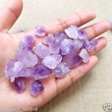 50g Natural purple AMETHYST quartz Crystal Cluster mineral specimen