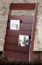 Freestanding Magazine Newspaper Stand Brochure Holder Storage Display Rack #620