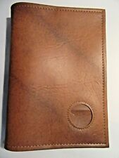 Alcoholics Anonymous AA Big Book Medallion Holder Tan Cover Chip Medallion coin