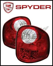 Spyder Ford F150 Flareside 97-03 LED Tail Lights Red Clear