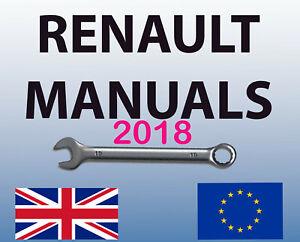 RENAULT DACIA DIALOGYS WORKSHOP MANUAL SERVICE PARTS ALL MODELS