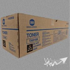 Genuine Konica Minolta TN616K Black Toner For BizHub Press C6000 C7000 A1U9130