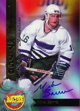 1995 Signature Rookies Hockey Signatures #40 Mike Barrie