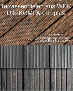 WPC Terrassendiele DIE KOMPAKTE plus von deutschen Hersteller NaturInForm