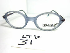 Vintage 90s Avante Garde For Luxottica Blue Small Size Eyeglass Frame (Ltd-31)